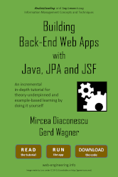 Building Back-End Web Apps with Java, JPA and JSF