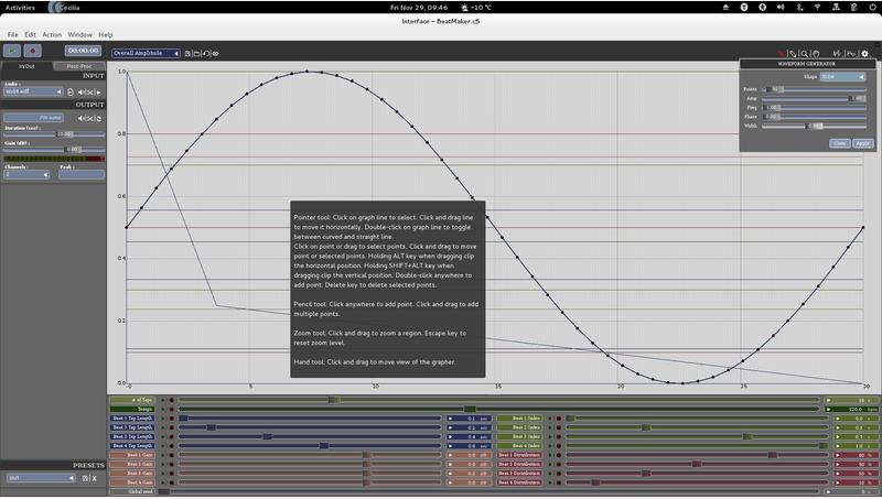 Cecilia - ear-bending sonics - LinuxLinks