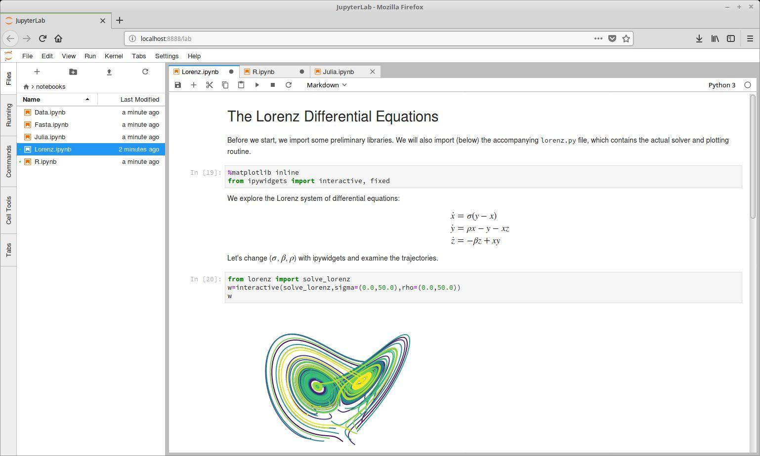 JupyterLab - Data Science Notebook - LinuxLinks