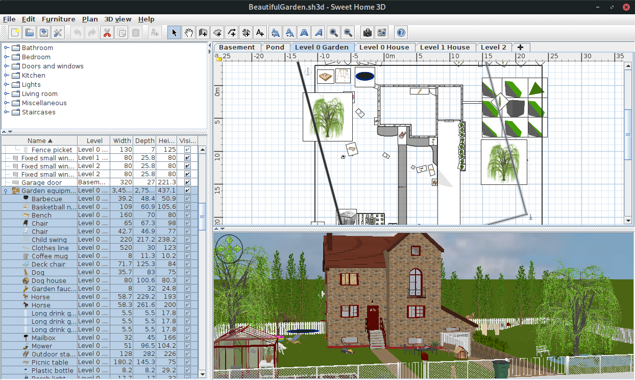 Sweethome3d Architectural Design Software Application Linuxlinks